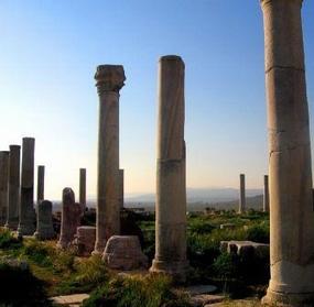 Ruins of St John's Basilica, Ephesus, Turkey