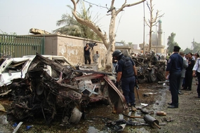 Destruction from Iraq War