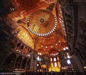 Hagia Sofia Cathedral Istanbul - now a museum (Christopher Chan)