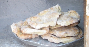 Fresh from Grandmother's oven (pic Grace Al-Zoughbi)