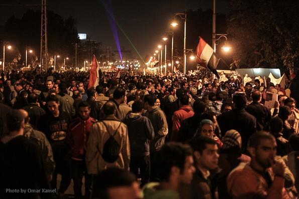 Protest against draft constitution, Cairo presidential palace (Zadokite)