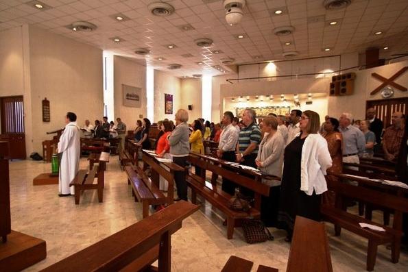 Worship at St Andrews, Abu Dhabi