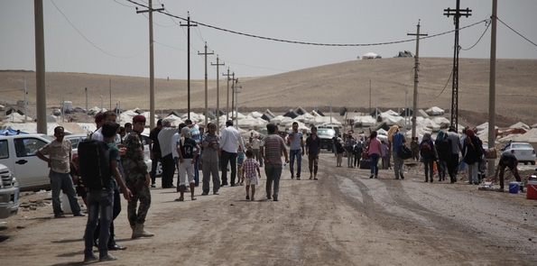 Kawrgosk refugee camp, Irbil, Northern Iraq, courtesy IHH/Insani Yardim