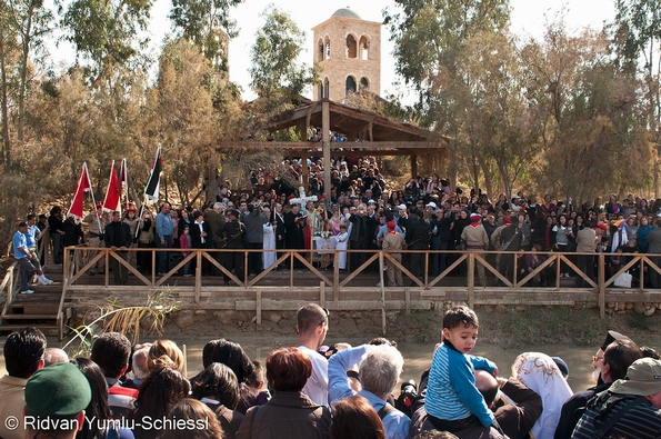 Syrian and Coptic Orthodox mark Epiphany at Qasr el Yahud River Jordan by Beautiful Faces of Palestine