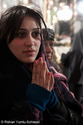 Armenian worshipper, Bethlehem (Beautiful Faces of Palestine)