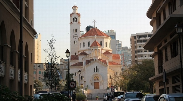Armenian Catholic Church, Beirut (L Shaw)