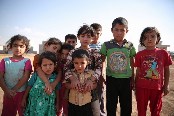 What will 2015 hold for these displaced Iraqi children and others like them?