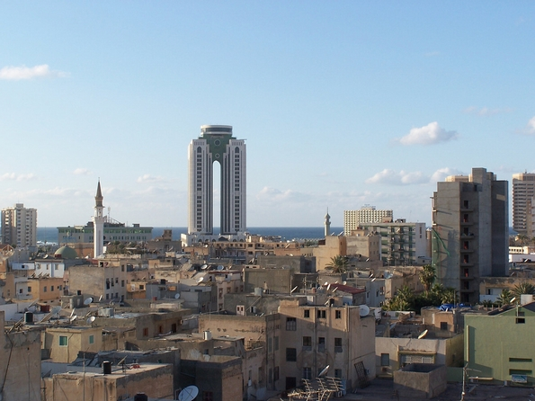 Tarabulus, central Tripoli, Libya in more peaceful times (Gordontour Flickr)