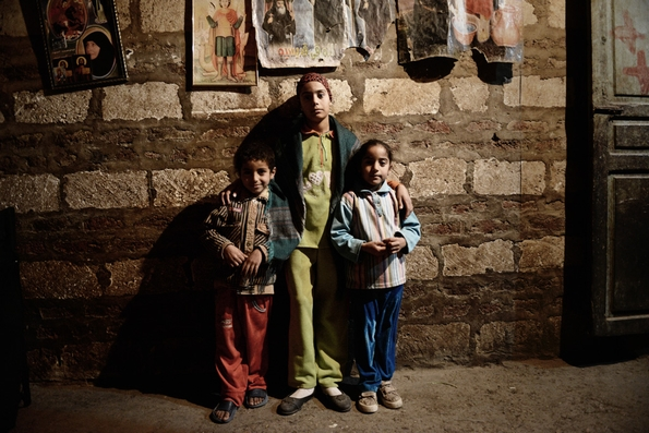 Children of Hany Abdel Messih (c) Jonathan Rashad
