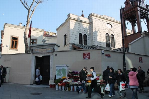 Armenian church in Kadikoy, Istanbul