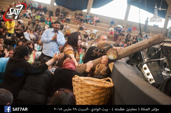 Gathered at the Cross: Egyptians rededicate themselves during 3 days of prayer