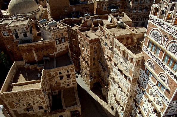 Sana'a Old City, Yemen (eesti, Flickr Commons)