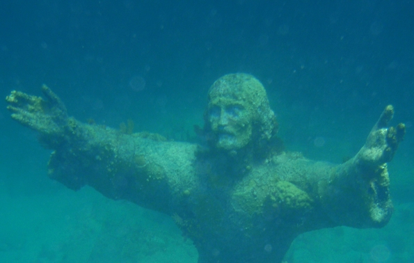 Christ of the Abyss (David Smith/Flickr Commons)