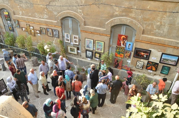 Art Without Walls exhibition, Arkan Centre (Arkan)