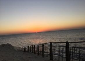 Sunset on Galilee