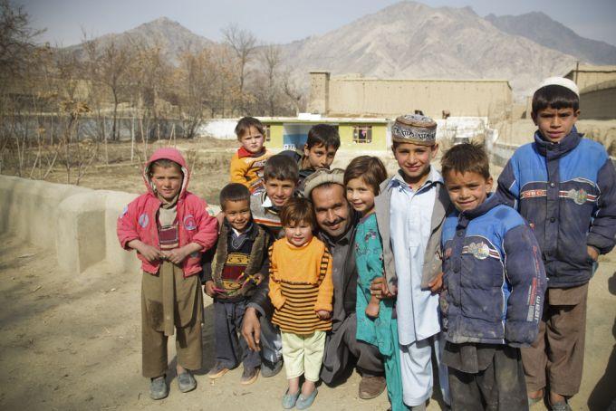 Aghan children