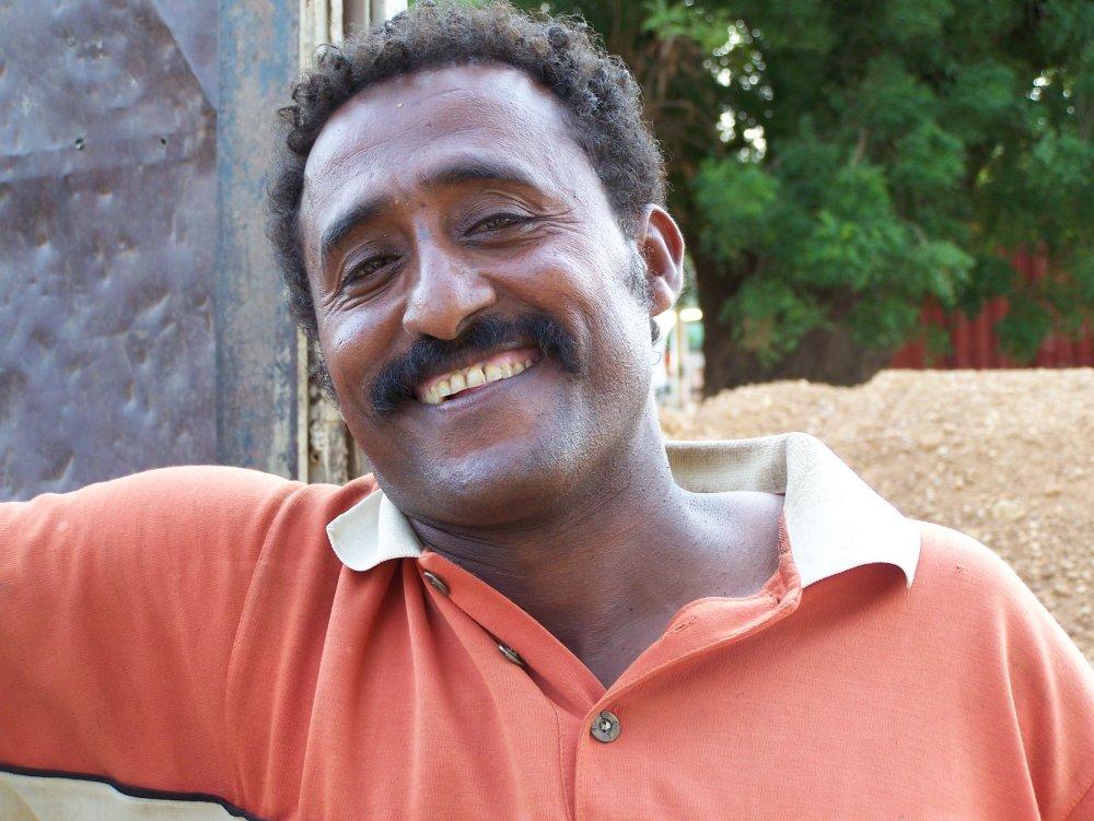 Sudanese man (stock image)