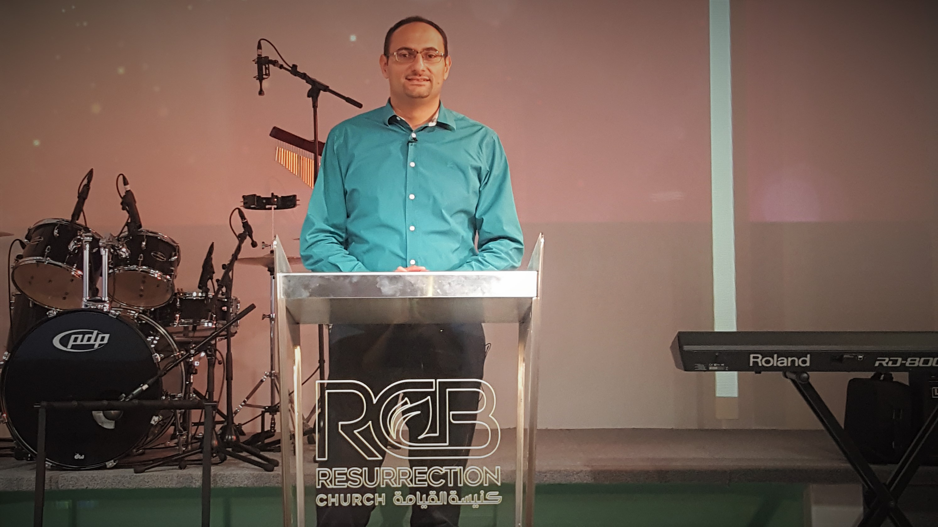 Pastor Hikmat Kashouh, Resurrection Church Beirut