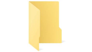 Web icon folder