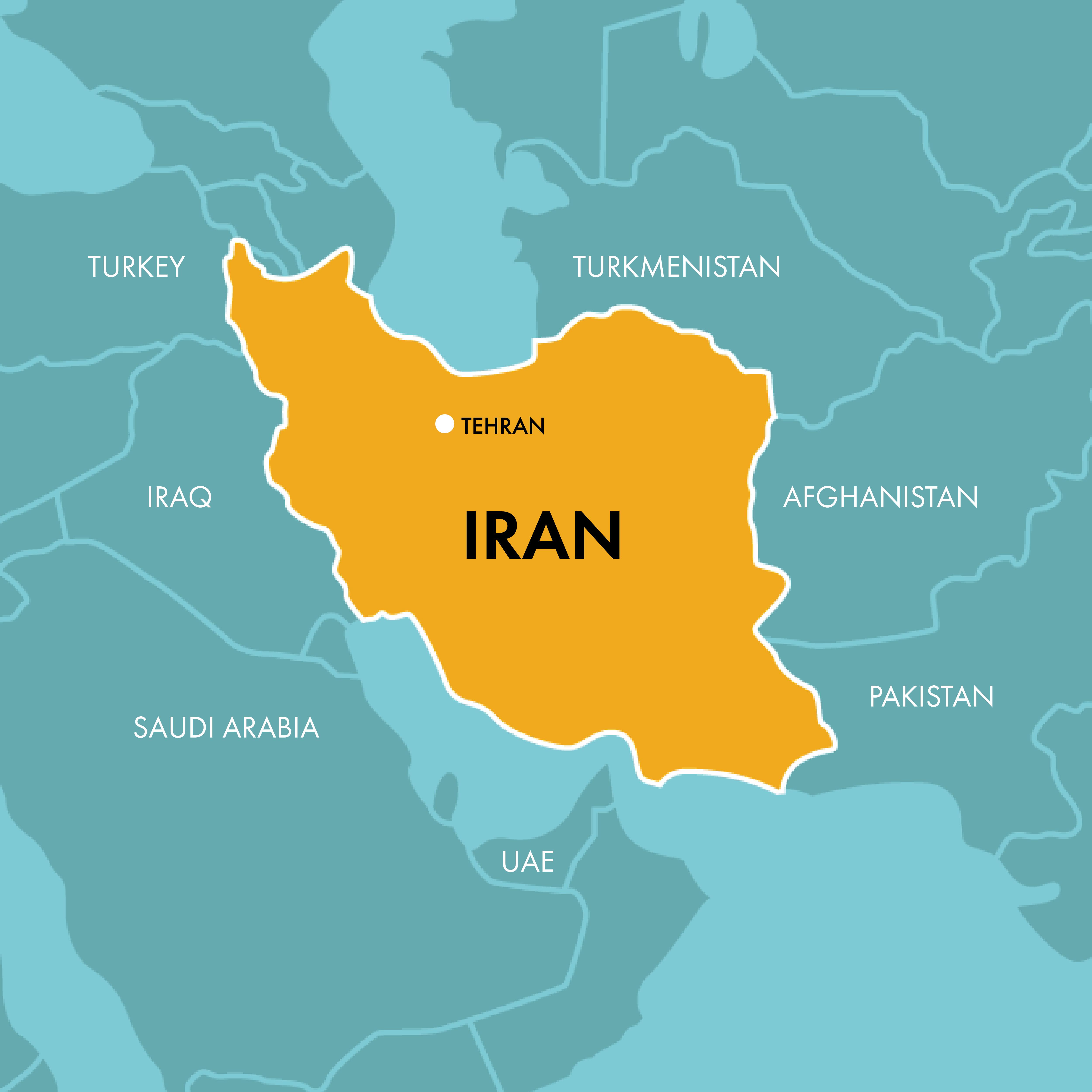 Iran map » SAT-7 UK