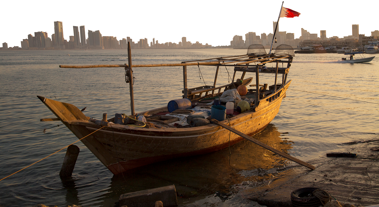 Fishing boat in Manama, Bahrain (Kutikan/Shutterstock)