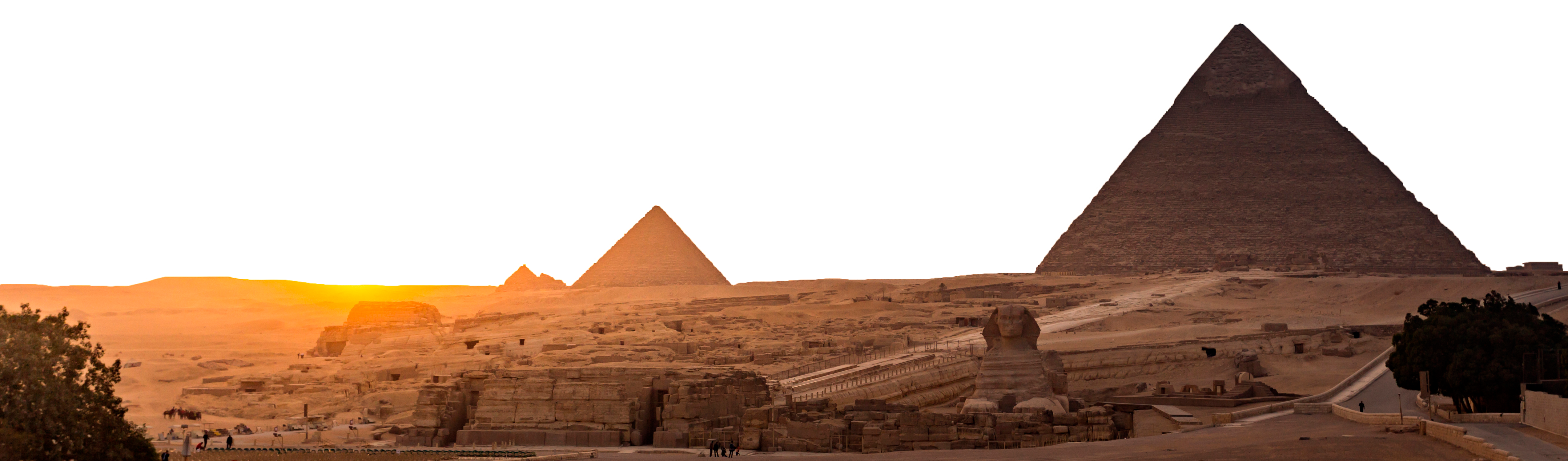 The Pyramids of Egypt (Kanuman/Shutterstock)