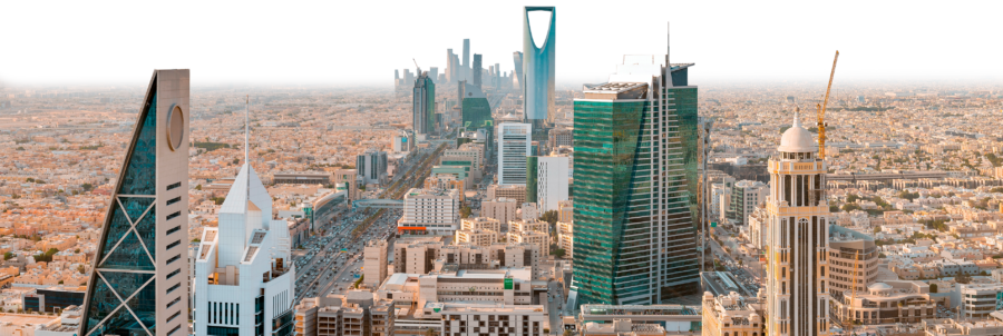 The skyline of Riyadh, Saudi Arabia (wajedram/Shutterstock)