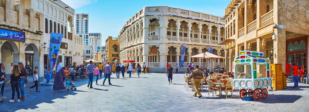 Souq Waqif in Doha, Qatar (eFesenko/Shutterstock)