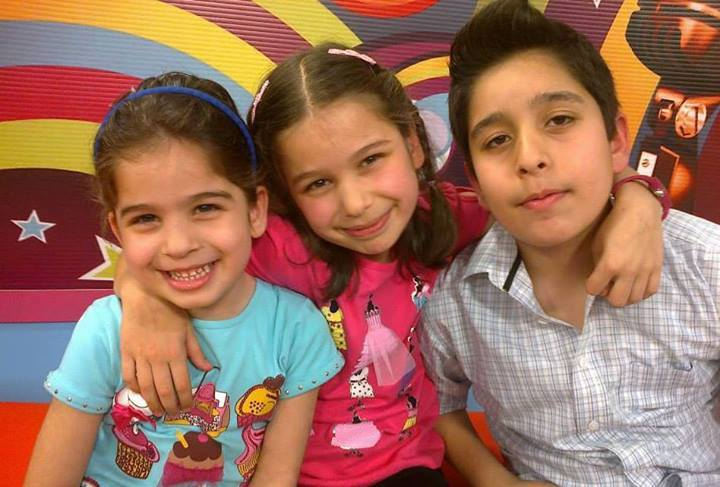 young kids on Lets Sing Together