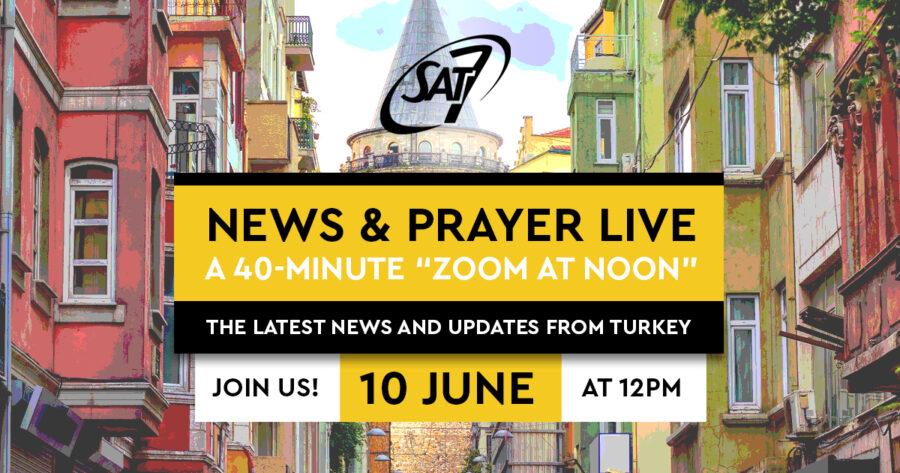 News and prayer live June invite
