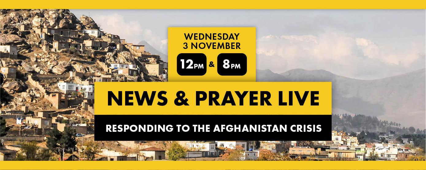 News & Prayer Live 3 November 2021