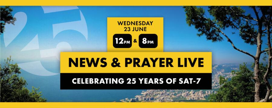 News & Prayer Live June 2021