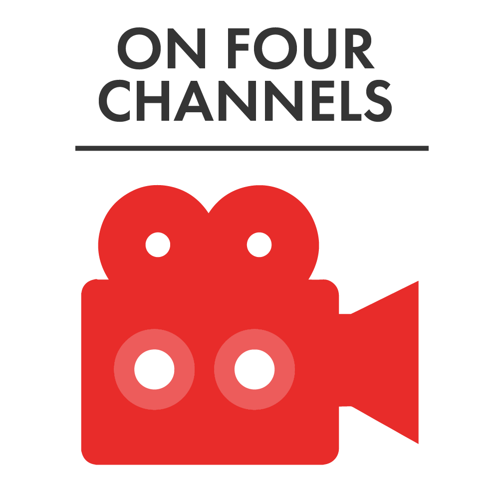 On Four Channels Red
