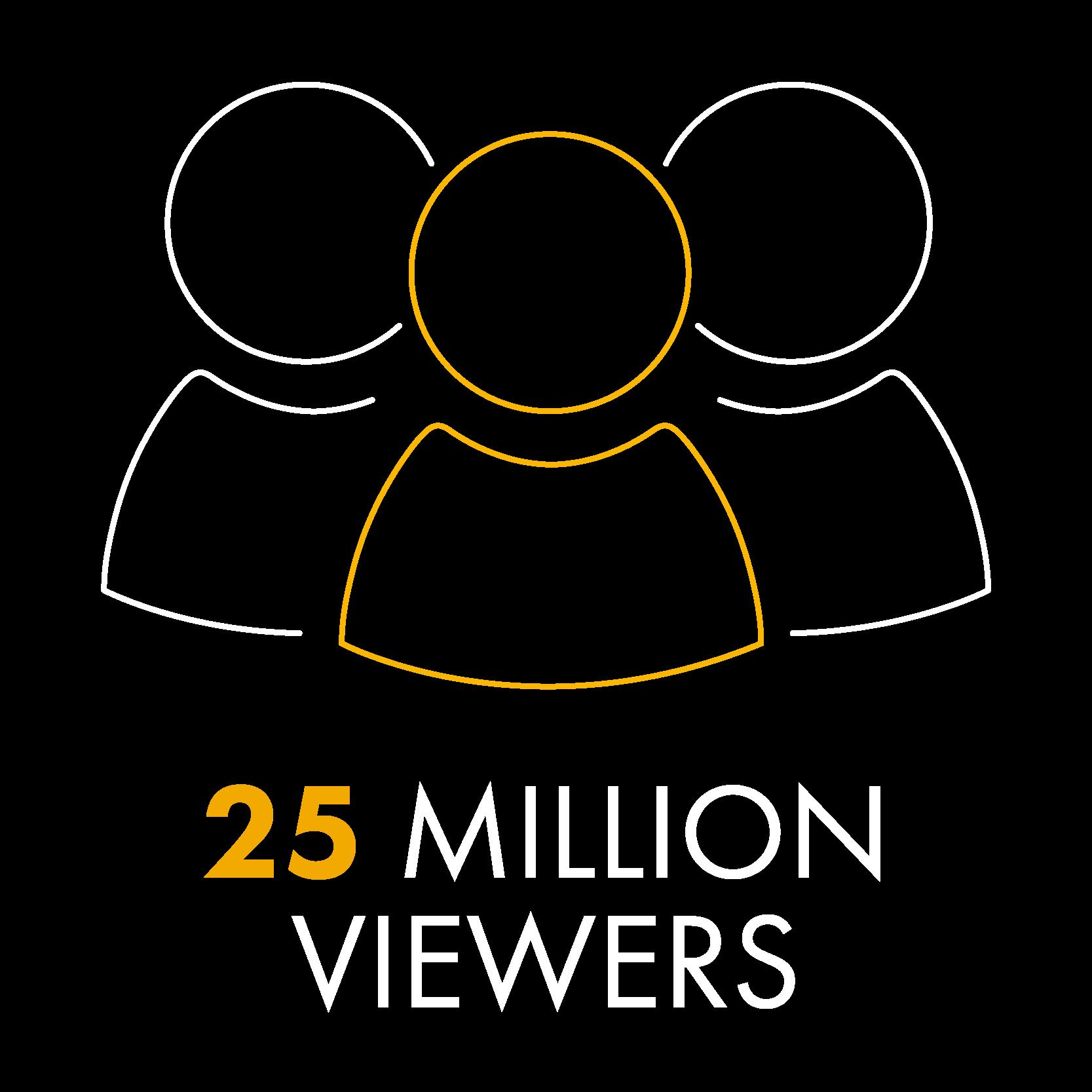 SAT-7 25 Million viewers