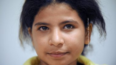 """Nojoud Ali, a 11-year-old girl from Yemen poses on January 28, 2009 in Paris, on the sideline of a debate organized by the Women's rights association """"Ni putes ni soumises"""". Ali was married off to a 30-year-old man who sustained months of sexual abuse but managed to buy back her freedom through divorce. She was the first child bride in Yemen, where child marriage is common but has rarely been exposed in public to go by herself to a courthouse to demand a divorce, generating a landmark legal case. AFP PHOTO BORIS HORVAT (Photo credit should read BORIS HORVAT/AFP/Getty Images)"""