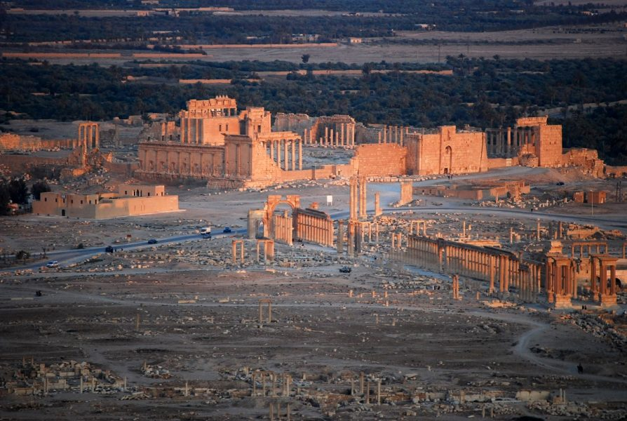 Ancient Palmyra, Syria (pictured 2010) recently reclaimed from IS (Pic: Alessandra Kocman, Flickr Commons)