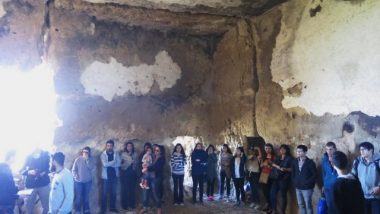 Summit meeting: young Turkish Christians assemble in an ancient cave church