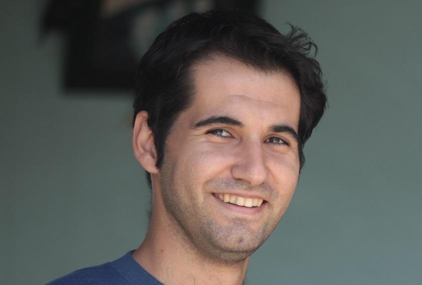 Iranian man cropped