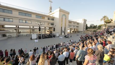 "Each quarter RCBeirut's five congregations gather for a shared ""5-in-1 event"" (Photo: RCBeirut)"