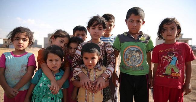 Displaced by IS terror: Iraqi children in Erbil