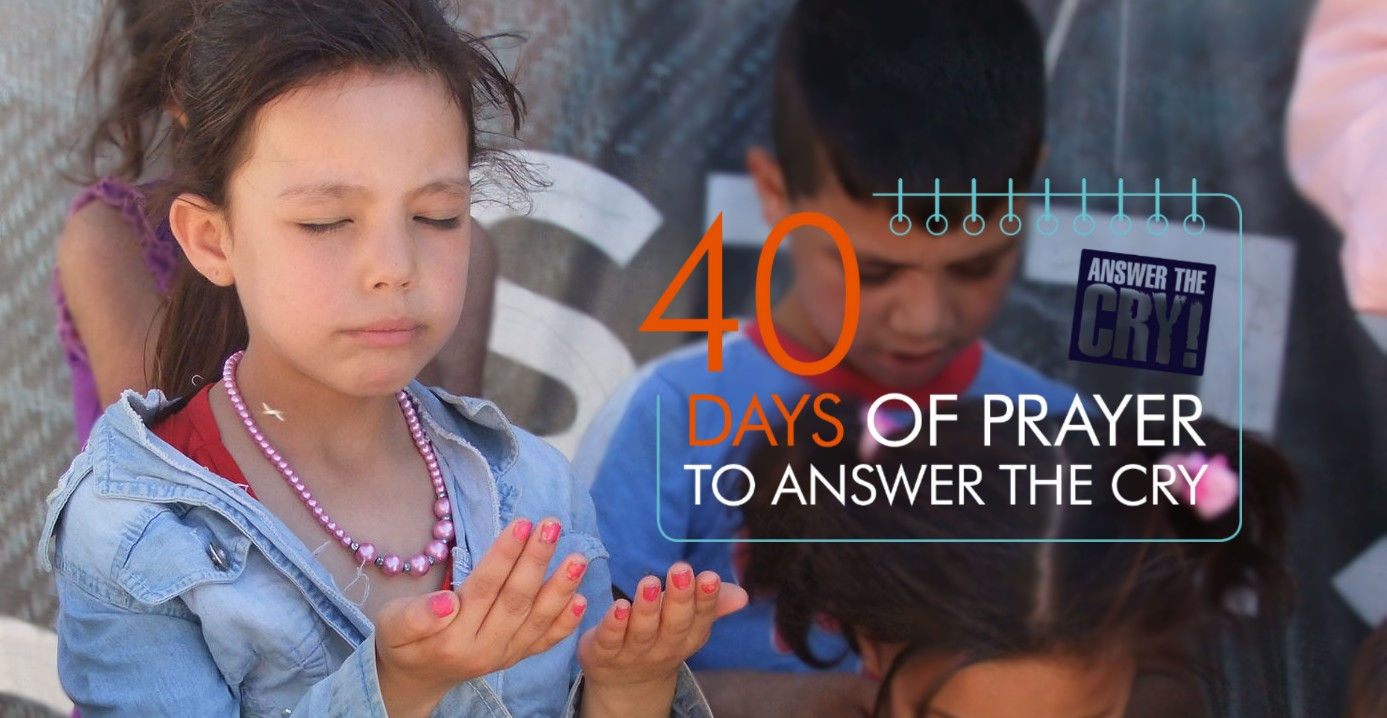 Young Girl praying web banner