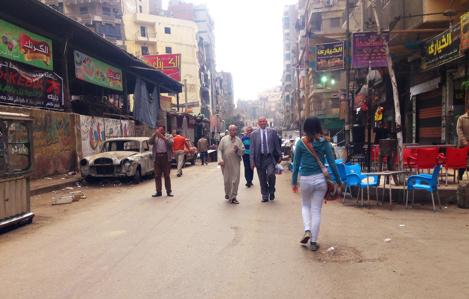 Street sexual harassment in egypt