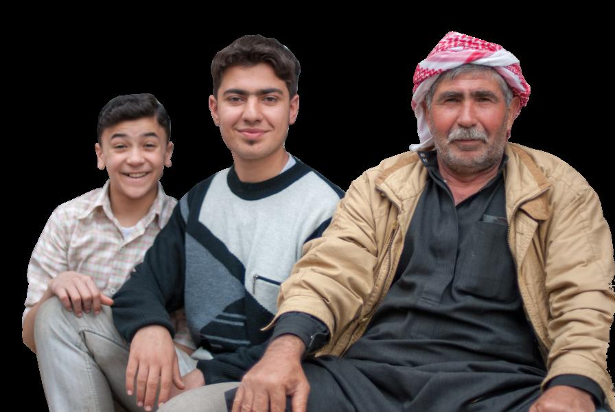 syrian men