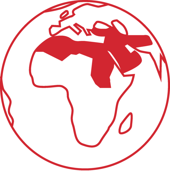 earth icon red