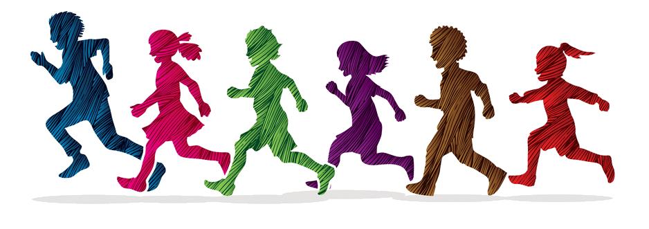 little-boy-and-girl-running-group-of-children-run-vector-14990244