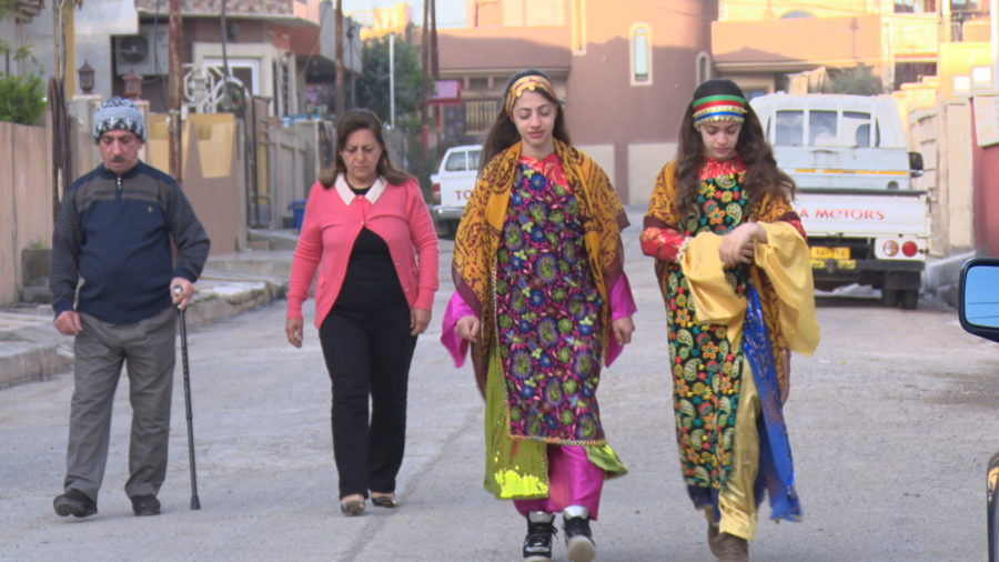Iraq documentary for World Refugee Day features Myriam, the girl who