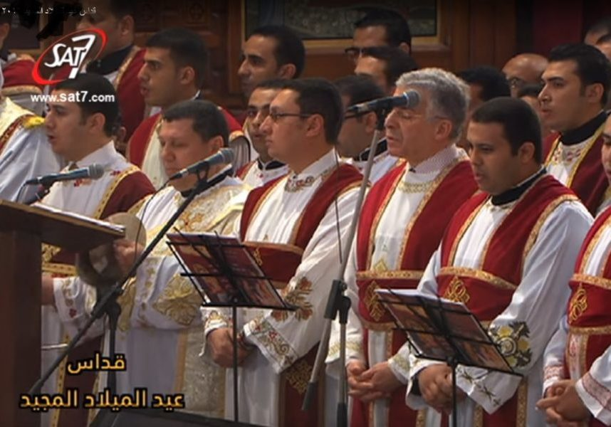 Coptic Cathedral choir 2017 Christmas Eve