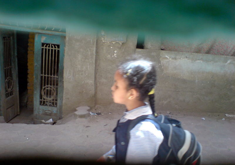 Egyptian schoolgirl (Photo: Camelia Hussein, Flickr Creative Commons)