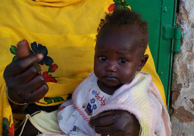 Sudanese baby girl